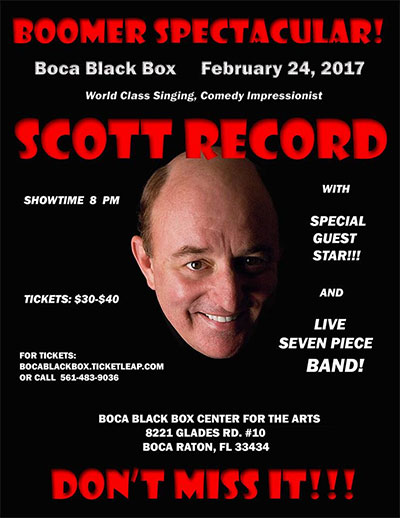 Scott Record Boca Black Box Florida